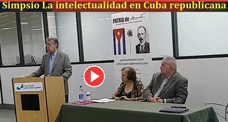 Emilio Sanchez Simposio La Intelectualidad en Cuba Republicana