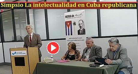 Julio M Shiling Simposio La Intelectualidad en Cuba Republicana