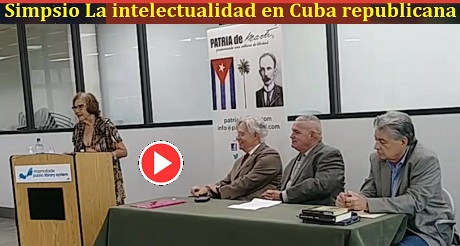 Rosa Leonor Whitmarsh Simposio La Intelectualidad en Cuba Republicana