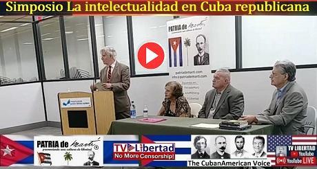Simposio La Intelectualidad en Cuba Republicana