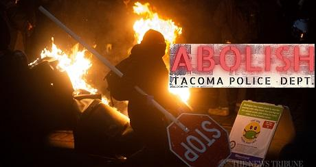 Antifa BLM siguen con motines