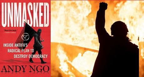 Antifa logra bloquear venta de libro que los expone