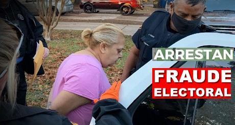 Arresto en Texas por fraude electoral