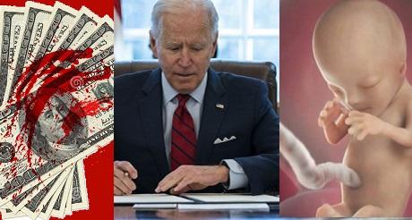 Biden facilita financiacion de EEUU a abortos en el extranjero