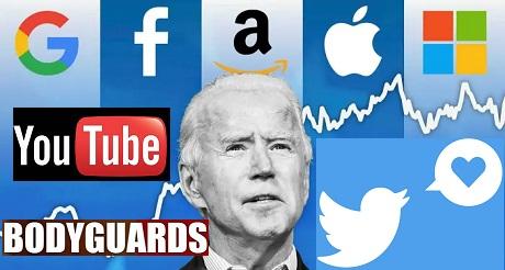 Biden se beneficia de censura de Big Tech