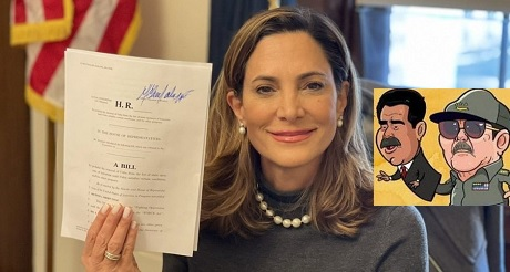 Congresista Salazar presenta Ley Bolivar para privar fondos a dictadura venezolana