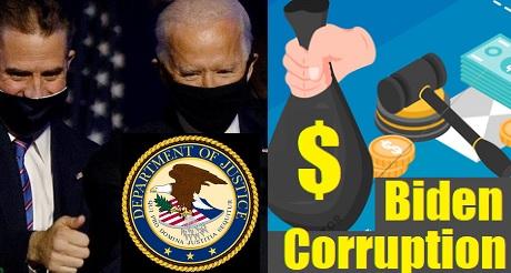 Corrupcion de Biden en nombramientos del DOJ