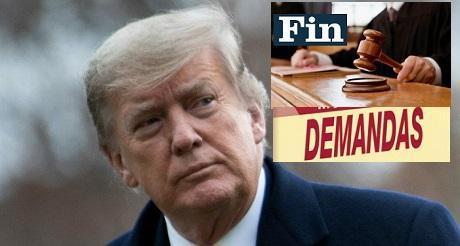 Corte Suprema descarta demandas sobre ingresos de Trump