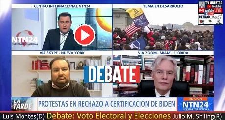 Debate: Voto Electoral, Fraude y Elecciones