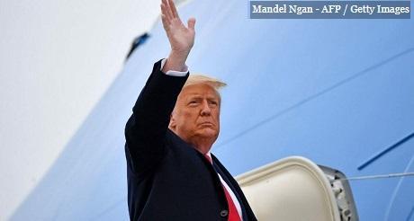 Despedida de Trump por todo lo alto