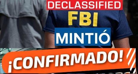 FBI mintio al usar pruebas falsas para destituir a Trump