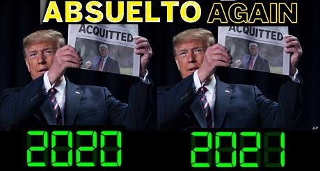 Trump absuelto again