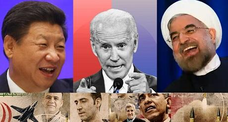 globalistas genocidas y terroristas festejan la salida de Trump