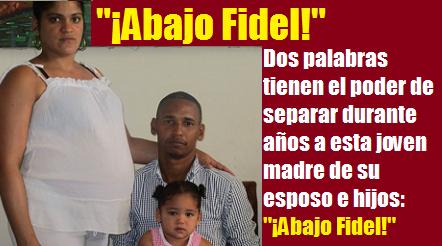 Abajo Fidel Yamilka Abascal