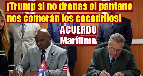 Acuerdo Maritimo Cuba EEUU