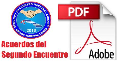 Acuerdos segundo encuentro nacional download