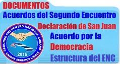 Acuerdos y declaracion segundo encuentro cubano 238X127
