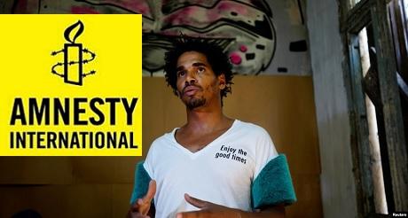 Amnistia Int nombra a Otero Alcantara preso de conciencia
