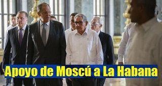 Apoyo de Moscú a La Habana
