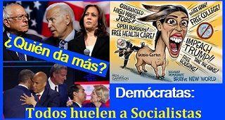 Candidatos Democratas Todos Huelen A Socialismo Mobile