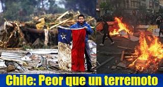 Chile: Peor que un terremoto