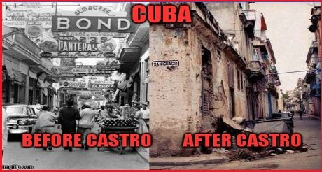 Cuba Fefore After