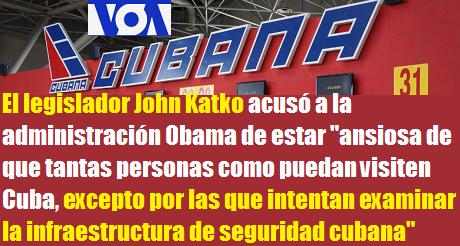 Cuba Niega Visa A Legisladores Estadounidenses