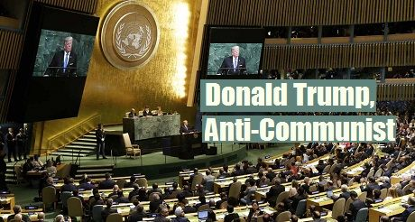 Donald Trump Anti Communist
