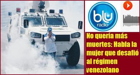 Entrevista Mujer Que Desafio Regimen Venezolano