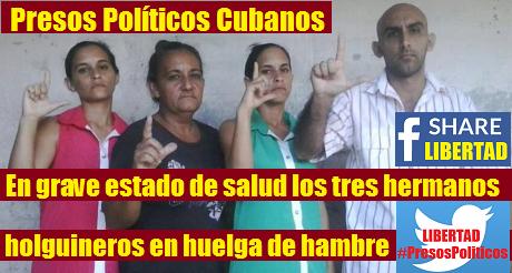 Hermanos Miranda Huelga Prisioneros Politicos