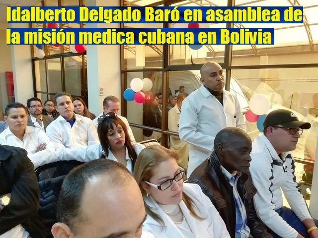 Idalberto Delgado mision medica cubana en Bolivia