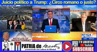 Juicio político a Trump: ¿Circo romano o justo?