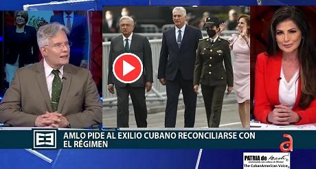 La visita ofensiva de Diaz Canel a Mexico