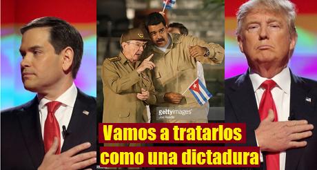 Marco Rubio Raul Maduro Trump