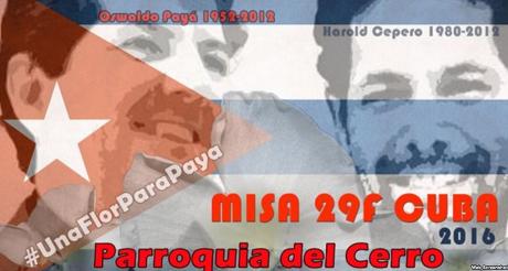 Misa Parroquia del Cerro Payá y Harold
