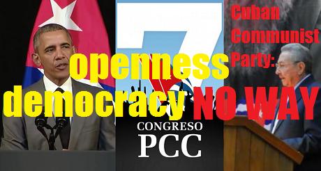 NO WAY Cuban Communist Party