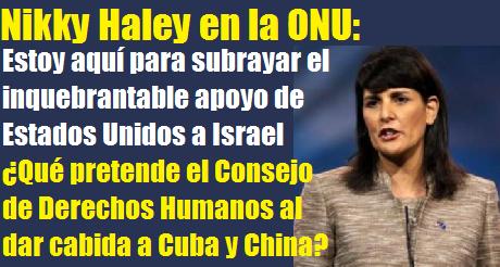 Nikky Haley ONU