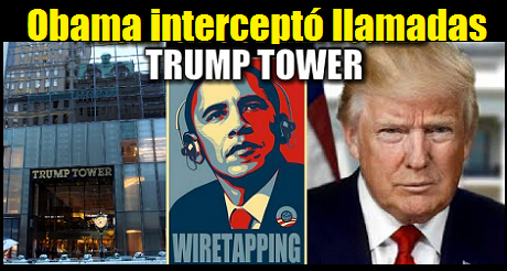 Obama Wire Tap Trump Tower