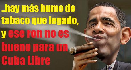 Obama mas humo de tabaco que legado