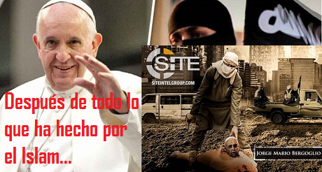 Papa Francisco Decapitado
