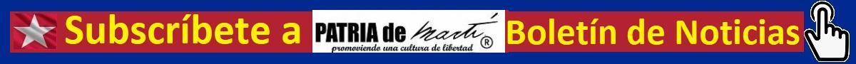 Subscriíbete al Boletín de Noticias