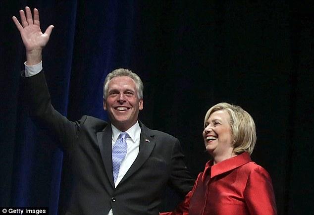 Terry McAuliffe Hillary Clinton