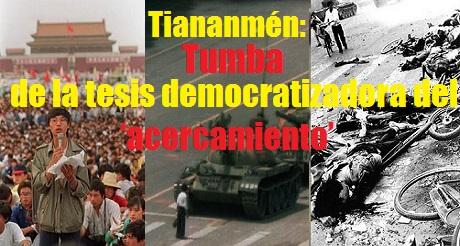 Tiananmen tumba del acercamiento