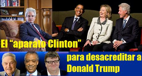 Aparato Clinton Desacreditar Trump