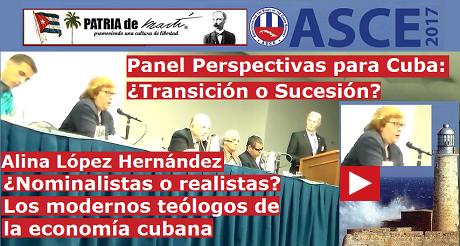 Alina Lopez Hernandez Panel Perspectivas para Cuba FB
