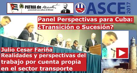 Julio Cesar Panel Perspectivas Para Cuba FB