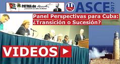 Videos Panel Perspectivas Para Cuba 238x127