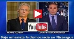 Bajo Amenaza Democracia Nicaragua
