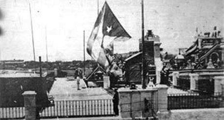 Bandera cubana 20mayo