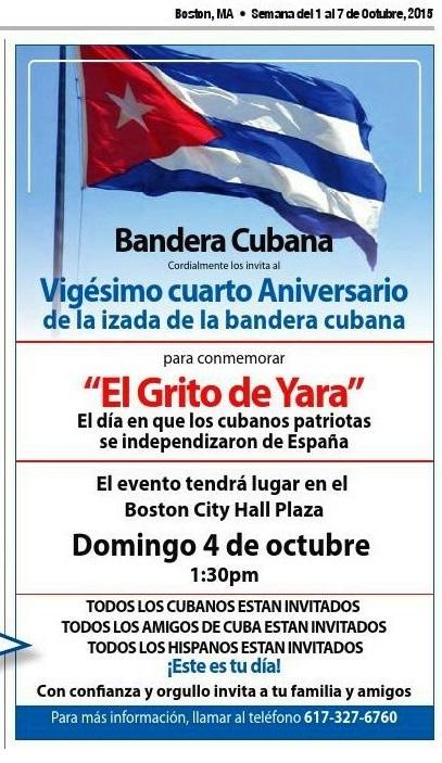 2015 10 01 Articulo evento Bandera Cubana 2